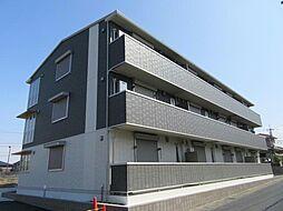 滋賀県大津市大将軍3丁目の賃貸アパートの外観