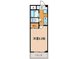 第2コーポ朝倉[3階]の間取り