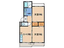 メゾンドムラジ[2階]の間取り