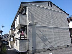 ハイツカアムA・B[2階]の外観