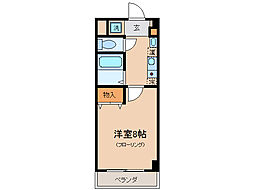 Rooms Ooji[4階]の間取り