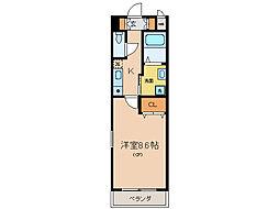 メゾン草津[2階]の間取り