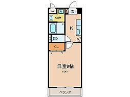 メゾン・ド・ベルーフ[2階]の間取り