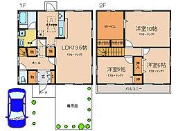 [一戸建] 滋賀県大津市月輪4丁目 の賃貸【/】の間取り