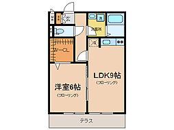 瀬田メディエートプラザ[1階]の間取り