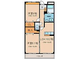 Residence MAT[3階]の間取り