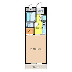 メープルタウン扶桑[2階]の間取り