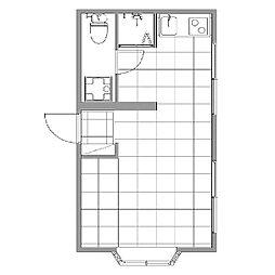 エクセルハイツ[2階]の間取り