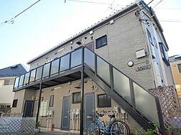 東京都葛飾区金町4丁目の賃貸アパートの外観