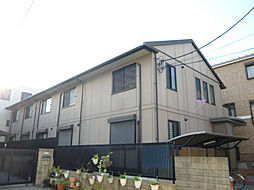 東京都葛飾区白鳥2丁目の賃貸アパートの外観