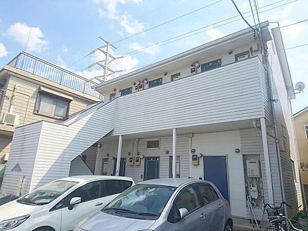 千葉県船橋市松が丘1丁目の賃貸アパートの外観