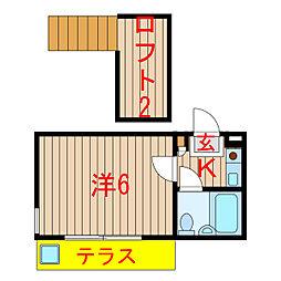 習志野駅 2.2万円