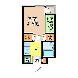 蛍茶屋駅 3.8万円