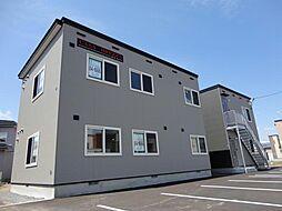 北海道北斗市本町の賃貸アパートの外観
