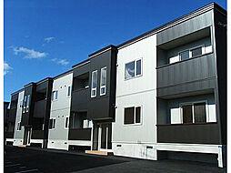 北海道亀田郡七飯町本町3丁目の賃貸アパートの外観