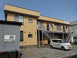 北海道函館市港町2丁目の賃貸アパートの外観