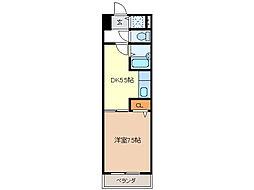 燦新町[3階]の間取り