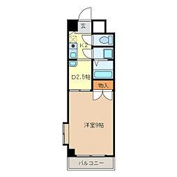 ロイヤル江戸橋[2階]の間取り