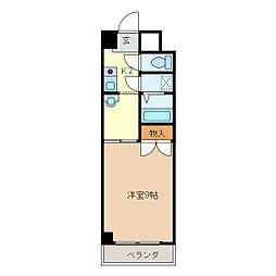 ロイヤル江戸橋[1階]の間取り