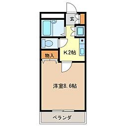 LAHAINA[1階]の間取り