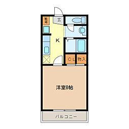 ドリーム[1階]の間取り