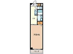 I.L.SHIMAZAKI[3階]の間取り