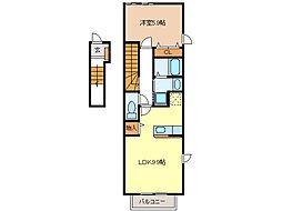 ファールラートI[2階]の間取り