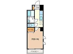 ミ カーサ・キタ[8階]の間取り