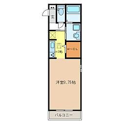 スプランドゥール[2階]の間取り