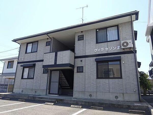 徳島県鳴門市撫養町立岩字五枚の賃貸アパートの外観