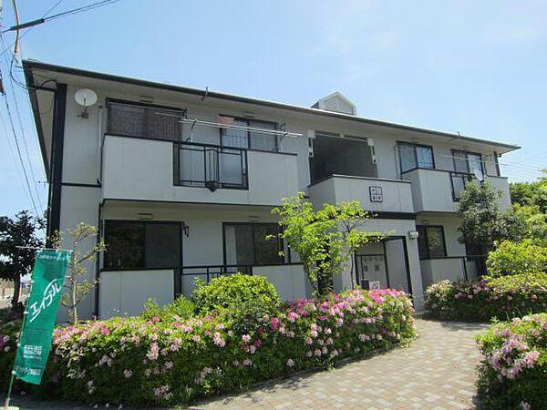 徳島県鳴門市瀬戸町明神字板屋島の賃貸アパートの外観