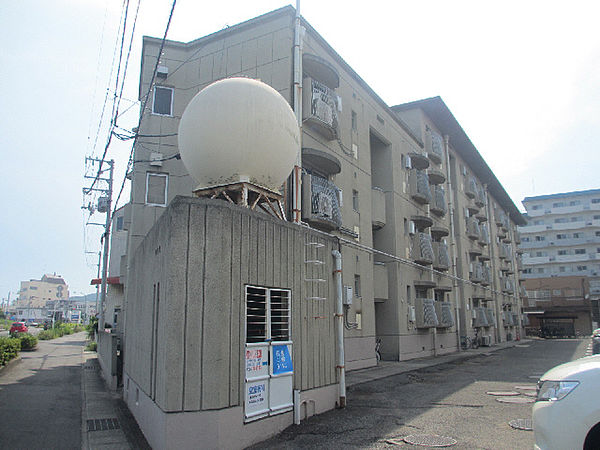 徳島県鳴門市撫養町大桑島字濘岩浜の賃貸マンションの外観