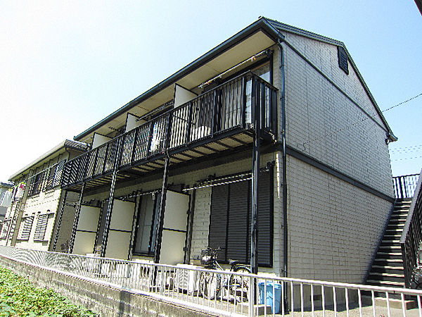 徳島県鳴門市撫養町斎田字見白の賃貸アパートの外観
