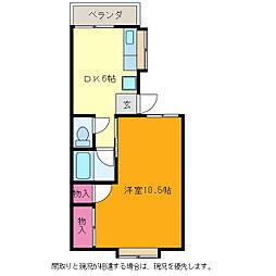 T&Kこばり[2階]の間取り