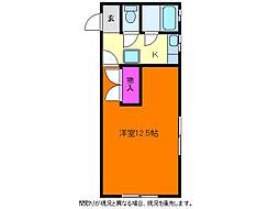 センチュリー寺地[1階]の間取り