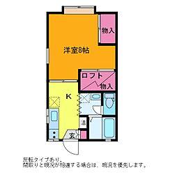 アコーダンス松田[A2-7号室]の間取り