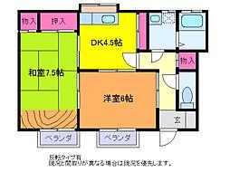 レジデンス・ナカジマ[1階]の間取り
