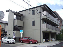 鹿児島県鹿児島市小松原2丁目の賃貸アパートの外観