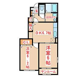 【敷金礼金0円!】指宿枕崎線 谷山駅 バス8分 窪田下車下車 徒歩9分