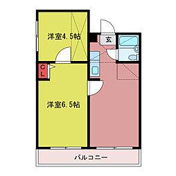 コアハウス[1階]の間取り