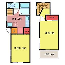 武州長瀬駅 4.0万円