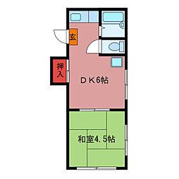 グリムハウス[2階]の間取り