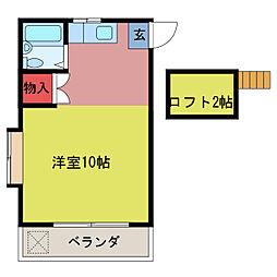 北坂戸駅 1.9万円