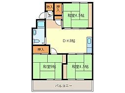 第一浅間台ハウス[5A8号室]の間取り