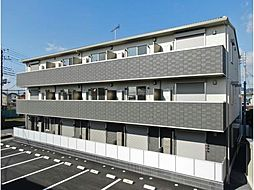 栃木県足利市福居町の賃貸アパートの外観