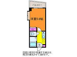 新潟県新潟市中央区上所3丁目の賃貸マンションの間取り