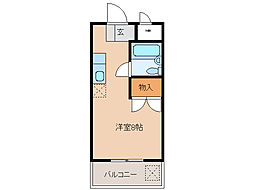 アクティ24[2階]の間取り
