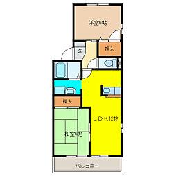 フレマリ—ルKs[1階]の間取り