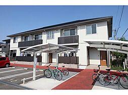 徳島県板野郡藍住町徳命字名田の賃貸アパートの外観