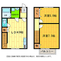 [一戸建] 徳島県板野郡藍住町富吉字穂実 の賃貸【/】の間取り